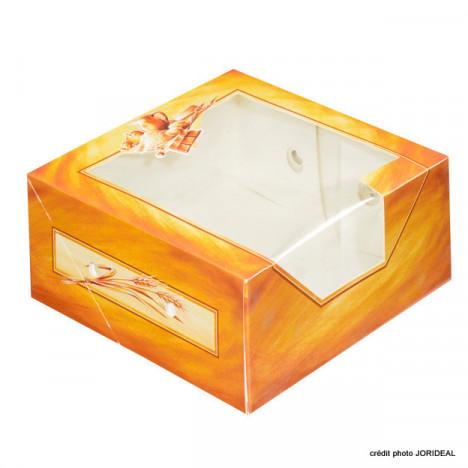 Boîte à fenêtre décor Côté Tradition pour entremet