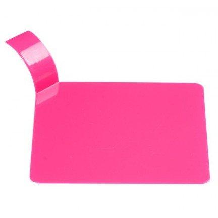 Support carré plastique
