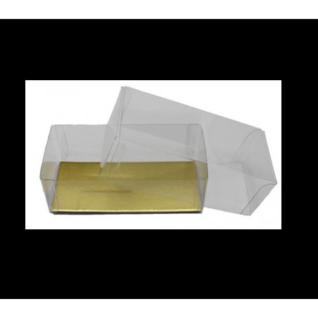 Boîte PVC cristal avec...