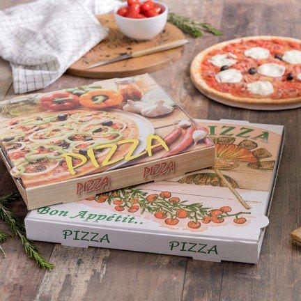 Boîte pour pizza