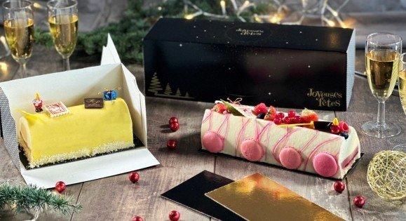 Boîte à bûche pour soutenir et transporter vos desserts glacés