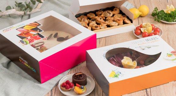 Boîte transport gâteau pour traiteur ou pour pâtissier