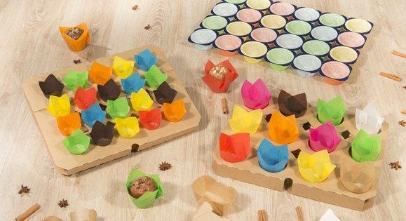 Moule papier muffin ou tulipe pour gâteau individuel