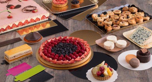Plateau de présentation pâtisserie ou apéritif pour professionnels